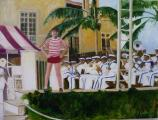 """The Band Plays On"", 2007, 30 x 40 in"