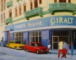 """Havana, Cuba"", 2008, oil on canvas, 24 x 30 in"
