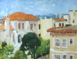 """""""Fran's View"""", 1993, oil on canvas, 14 x 18 in"""