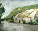 """Irish Road"", 1993, oil on canvas, 50 x 60 in"