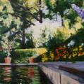 &quot;Summer Pool&quot;, 2008, oil on canvas, 24 x 24 in