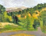 &quot;Tilden #7&quot;, 1989, oil on canvas, 14 x 18 in